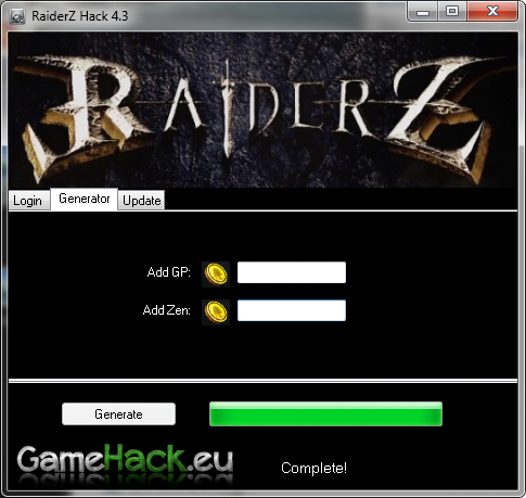 RaiderZ Hack 4.3 - See video how to Hack RaiderZ | Game Hack : Watch