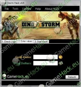 Dino Storm Hack