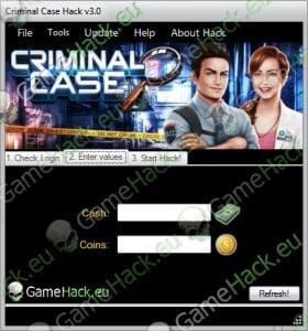 Criminal Case Hack